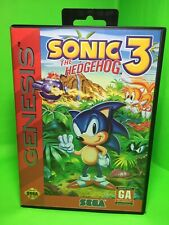 Sonic the Hedgehog 3 (Sega Genesis, 1994) w/manual - tested