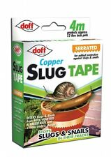 Stops Deters Slug & Snail Adhesive Copper Tape 4M Serrated for Added Protection