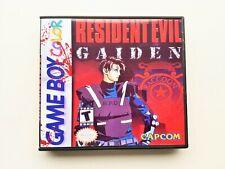 Resident Evil Gaiden Gameboy Color Game / Case Nintendo GBC (USA Seller)