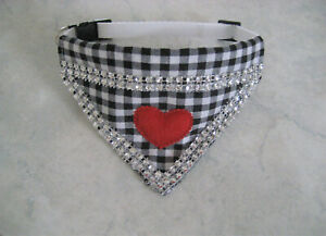 Hundetuch verstellbar 31- 38 cm Halsband Hundehalstuch Halstuch Hundebekleidung