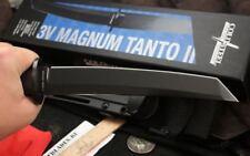 Cold Steel Magnum Tanto II Knife 7 ½ CPM 3V High Carbon Blade & Kray-Ex Handle
