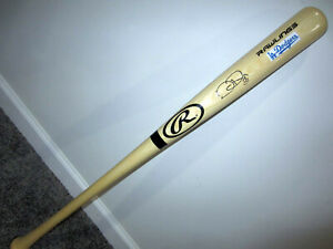 JOC PEDERSON Los Angeles Dodgers LA SIGNED Autographed Baseball Bat w/ BAS COA