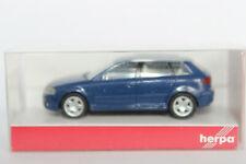 Audi A3 8PA dunkelblau  Herpa  1:87