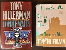 Coyote Waits~Tony Hillerman (HC)1ST EDITION~inscribed by Author+3 Mysteries in 1