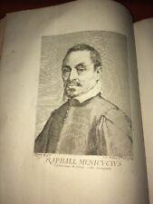 Raphaël MENICUCCIUS, Célèbre Bouffon.  Portrait Gravé XVIIIe