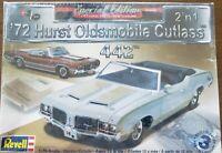 Revell 1972 Hurst Oldsmobile Cutlass 442 1:25 Model Kit 85-4244 2'n1 New In Box