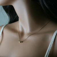 Fashion Jewelry Women Charm Pendant Chain Choker Gold Necklace Minimalist Style