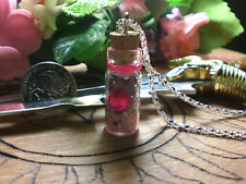Witch Love Spell Bottle Talisman Free Mini Crystal Point