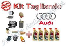 KIT TAGLIANDO AUDI A4 2.0TDI 140CV 16V DAL 2004-->2008 (BLB, BRE) - OLIO + FILTR
