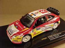 Ixo #RAM238 1/43 Diecast Citroen Xsara WRC, 2nd '06 Catalonia, #15 Sordo & Marti