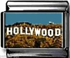 HOLLYWOOD LA SIGN CALIFORNIA 9mm Italian Photo Charms for nomination bracelet