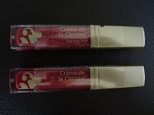 Revlon Creme De La Chrome Liquid Lipcolor- RAZZLE DAZZLE #380 - TWO Brand New
