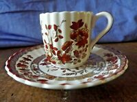 Vintage Spode Coffee Cup & Saucer