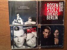 Rosenstolz [4 CD Alben] Herz +das grosse Leben + Live Berlin + Wir sind am Leben