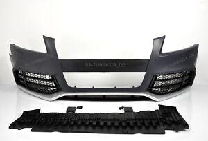 Für Audi A5 8T RS5 Look Stoßstange 07-12 Wabengrill Kühlergrill Spoiler
