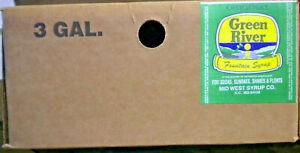 GREEN RIVER  *  Soda Fountain Syrup - 3 gallon Bag-N-Box (QCD II)