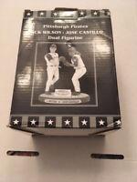 RARE PITTSBURGH PIRATES/PNC PARK SGA - JACK WILSON/JOSE CASTILLO DUAL FIGURINE
