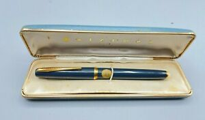 Vintage French  WATERMAN JIF MATIC  Fountain Pen 14C #3 nib NOS NEW Stickered