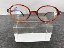 Safilo Elasta Kids Eyeglasses 2586 5CN 43-16 125 Round Brown Flex Italy 6863