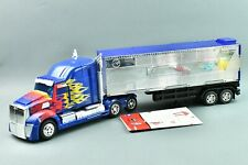 Transformers Age of Extinction Platinum Optimus Prime with Trailer Leader