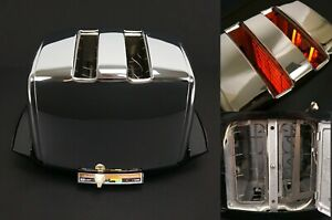 Vintage Sunbeam Radiant Control Auto Drop Automatic Toaster AT-W Art Deco MCM