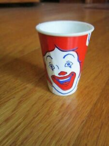 """Playdoh McDonald's Toy Ronald Face Tiny 2"""" CupONLY Replacement Part FREE SHIP"""