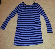 Cotton Blend Shirt Maternity Dresses