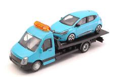Renault Clio + Flatbed Transporter 1:43 Model 31401 BBURAGO