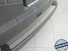 VW T5 TRANSPORTER 2003-15 Rear Bumper Protector Stainless Steel Scuff Sill Plate
