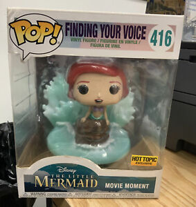 Funko POP! Movie Moment The Little Mermaid Finding Your Voice #416 Ariel DMG BOX