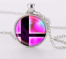 Super Mario Bros Cabochon Glass silver necklace for women men Jewelry