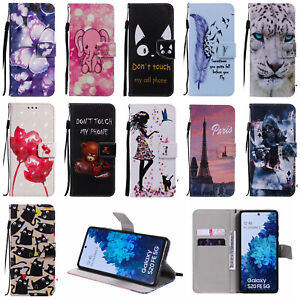 Animal For Samsung S20 FE 5G Phone Case Magnetic Wallet Stand Leather Flip Cover