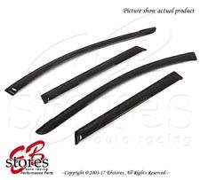 For Toyota Matrix 2009-2013 Outside-Mounted Dark Smoke JDM Window Visors 4pcs