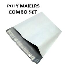 100 (50 7.5x10.5 50 9X12 ) Poly Mailers Envelopes Shipping Self Seal Plastic Bag