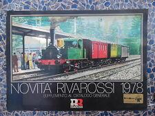 Catalogue NOVITA'RIVAROSSI 1978 – supplément au catalogue général en italien