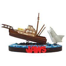JAWS ORCA BOAT SHARK ATTACK DELUXE PREMIUM RESIN STATUE FACTORYENT LIMITED EDT