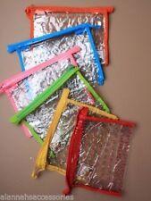 translúcidas PVC TRANSPARENTE Estampado Floral Maquillaje / Viaje Water NECESER