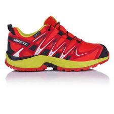 Calzado de niño zapatillas deportivas rojos de sintético