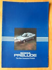 HONDA PRELUDE orig 1984 UK Mkt Sales Brochure