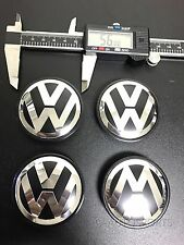 4Pcs 56MM WHEEL HUB CAPS LOGO Fit for VW VOLKSWAGEN GOLF BEETLE JETTA 1J0601171