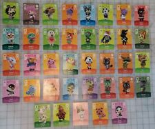 Animal Crossing New Horizons Amiibo Cards Lot 37 cards