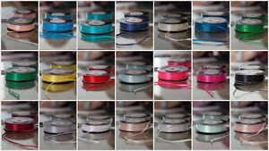 Decor Essentials Double Faced Satin Ribbon 3mm x 50 m Craft Stationery Florist
