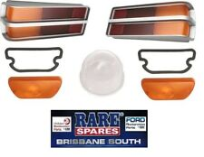 HOLDEN LH LX TORANA LIGHT LENS KIT TAIL LIGHTS 2 SILVER INDICATOR NUMBER PLATE
