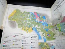 DERCOURT Etude Géologique Péloponnèse Septentrional 80 PLANCHES 1 CARTE 1964