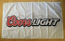 Coors Light Beer 3x5 Ft Flag Indoor Outdoor Banner Man Cave