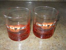 """Vinage """"87 Proof"""" Barware Glasses with Weighted Bottom - 2"""