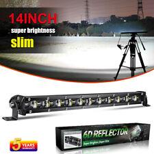 14 Inch Newest LED Light Bar 60W High Power Super Bright 12V 24V Offroad UTV SUV