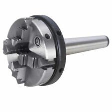 4Jaw Morse Taper Lathe Chuck MT2 63mm Self-centering Clamping 2-60mm for Lathe