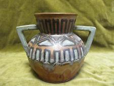 Beau vase quimper Odetta décor géometrique (Quimper odetta vase)