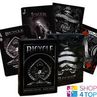 2 DECKS BICYCLE ELLUSIONIST 1 SHADOW MASTERS AND 1 ARCANE BLACK PLAYING CARDS